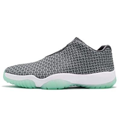 bf316309f1e Jordan Future Low Wolf Grey Emerald Rise (Big Kid) (4 M US