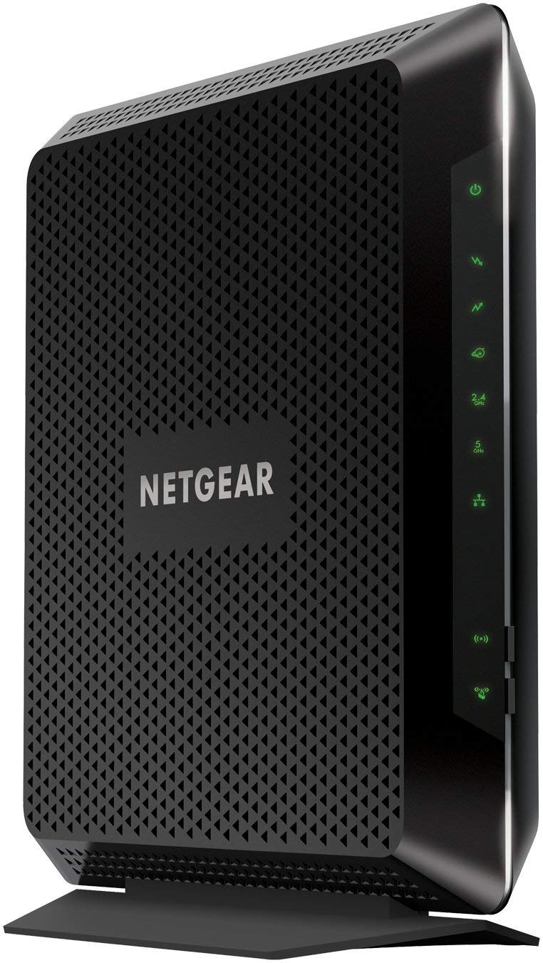 NETGEAR Nighthawk Cable Modem WiFi Router Combo C7000-Compatibility Cable Providers including Xfinity by Comcast, Spectrum, Cox _ Cert . Refurbished by NETGEAR