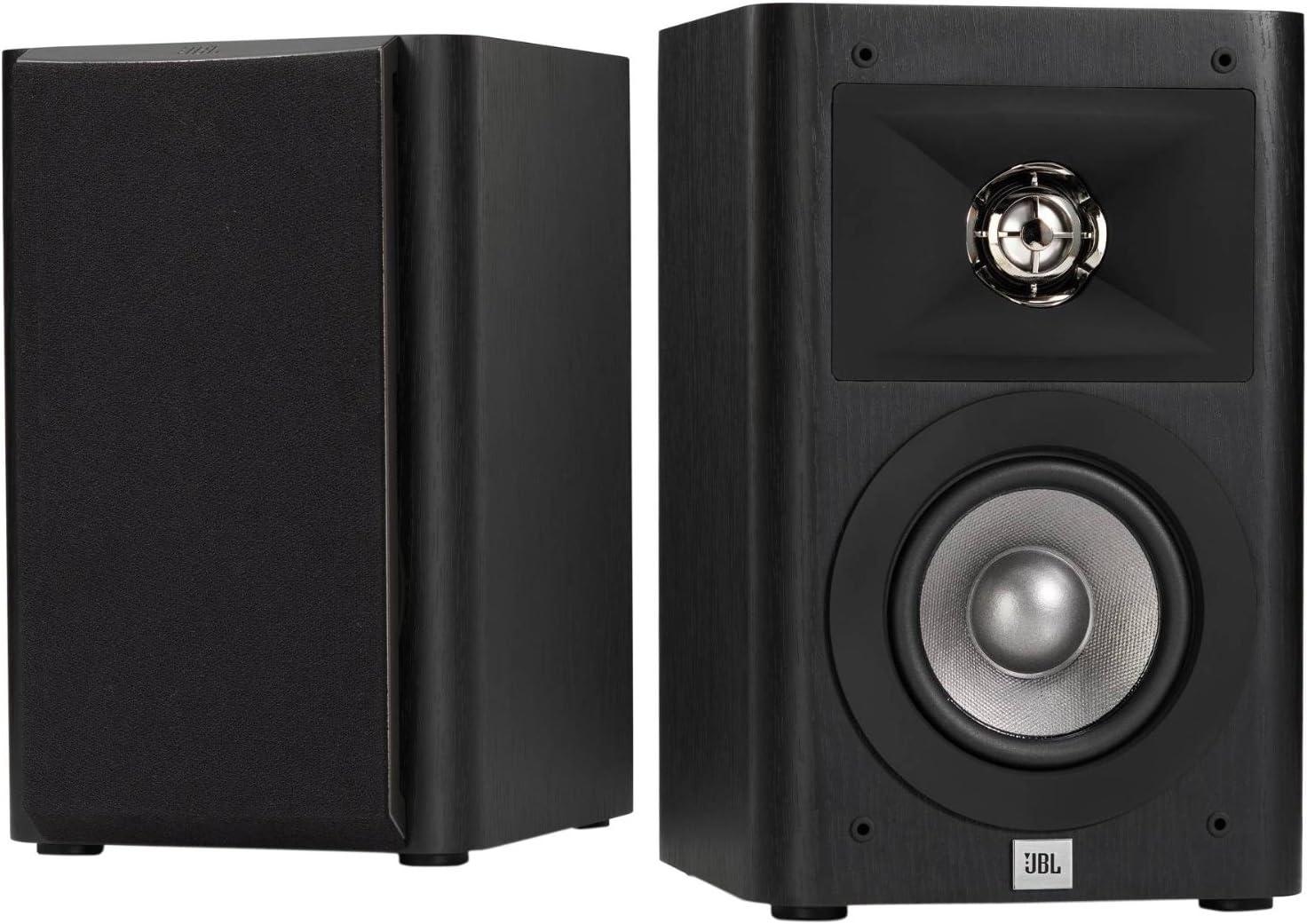 JBL Studio 220 4-Inch 2-Way Bookshelf Loudspeaker (2)