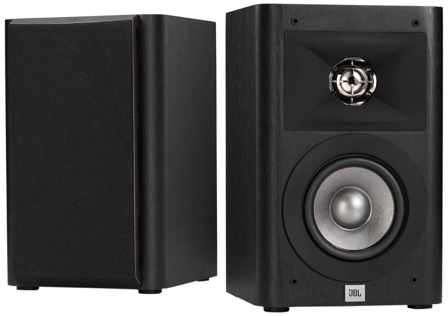 JBL Studio 220 4-Inch 2-Way Bookshelf Loudspeaker (2)