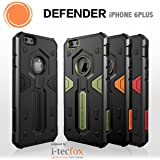 iPHONE 6 PLUS / 6S PLUS - DEFENDER CASE STRONG [ORANGE] - OUTDOOR HYBRID BUMPER - Cover, Hülle, Rahmen, Skin - powered by i-tecfox