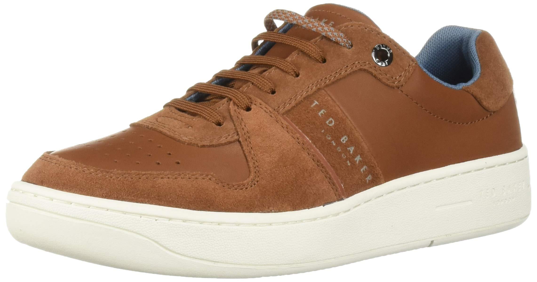 Ted Baker Men's Maloni Sneaker Tan 10 Regular US