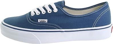 Vans Authentic Navy Canvas Skate Shoe