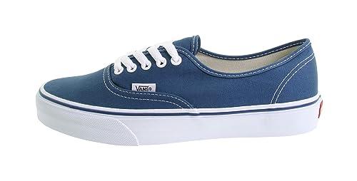 846344f84a Vans Men s Shoes Authentic Navy Blue Fashion Skate Sneaker ...