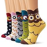 Moliker ragazze calzini di cotone morbido sudare-assorbenti multi-coppie Designs