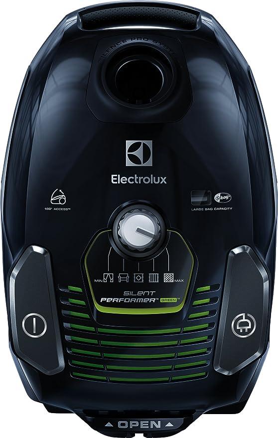 Electrolux ESP7GREEN Aspiradora, 3.5 litros, Ebony Black/Sage Green: Amazon.es: Hogar
