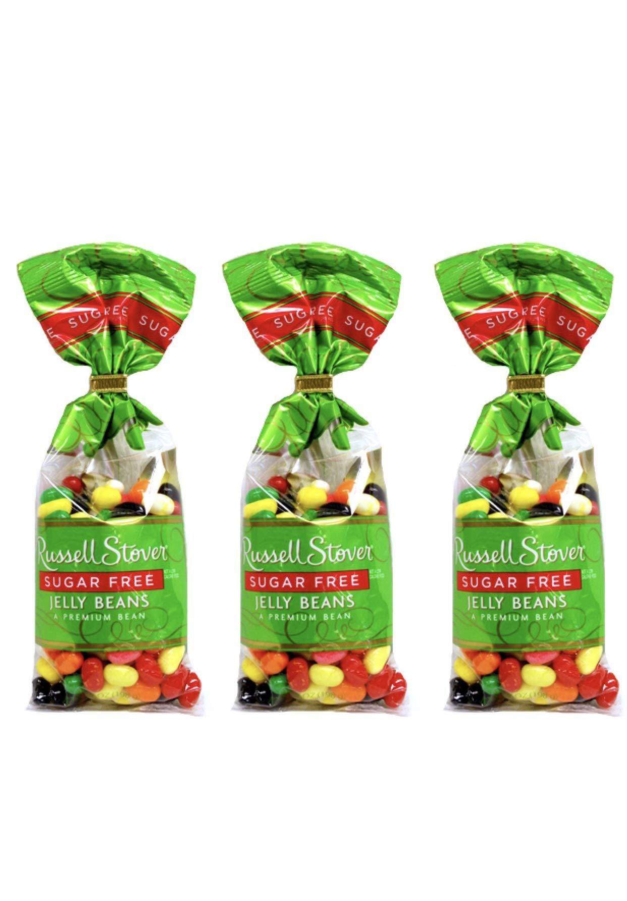 Russell Stover Sugar Free Jelly Beans Easter Candy - Pack of 3 Bags - 7 oz per Bag by Russell Stover