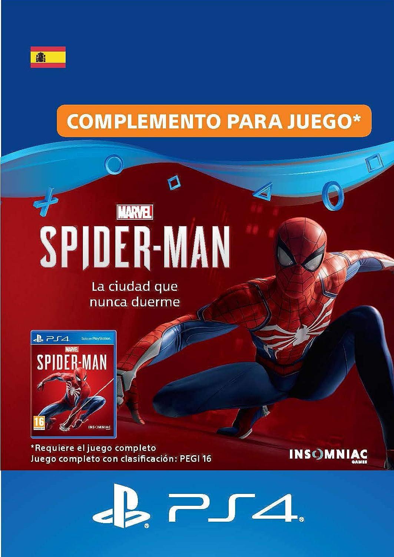 Marvels Spider-Man: The City that Never Sleeps | Standard Edition | Código de descarga PS4 - Cuenta Española: Amazon.es: Videojuegos