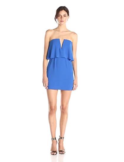 8df371fef07 Amazon.com  BCBGMAXAZRIA Women s Kate Strapless Dress  Clothing