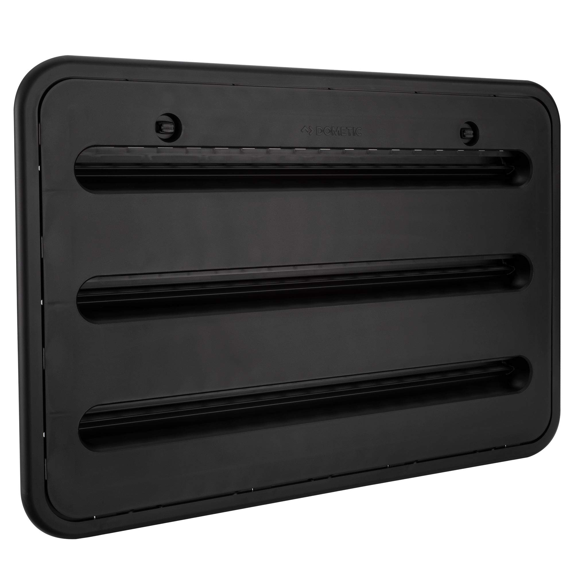 RV Camper Trailer 24'' Dometic Refrigerator Side Wall Vent | Black 3109350.065