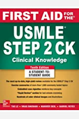 First Aid for the USMLE Step 2 CK, Tenth Edition Paperback