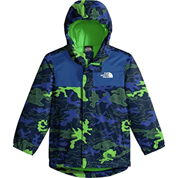 6c8aa9af4122 The North Face Toddler Tailout Rain Jacket - Cosmic Blue Griddy Woodland  Camo Print - 2T  The North Face  Amazon.ca  Sports   Outdoors