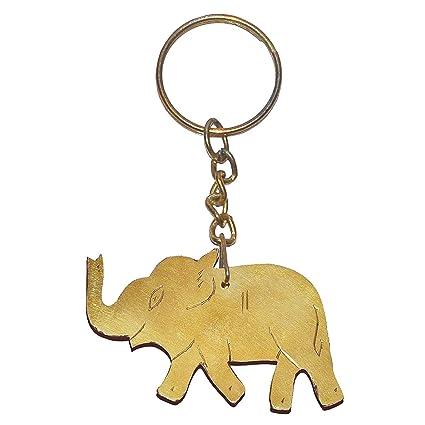 Regalo de Navidad pequeño de madera buena suerte elefante ...