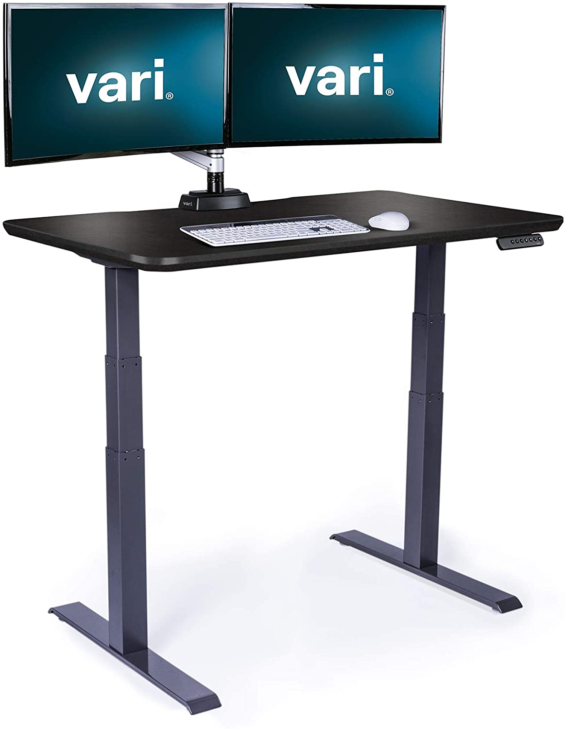 Vari Electric Standing Desk 48 - Sit to Stand Desk - Push Button Memory Settings