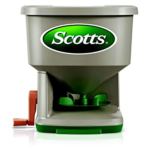 Scotts Whirl Hand-Held Spreader, Brown
