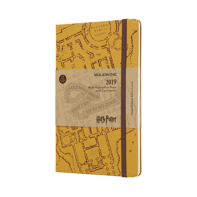 Libreta semanal 12m de edici/ón limitada Petit Prince de bolsillo Moleskine DPP12WN2Y19 color amarillo girasol
