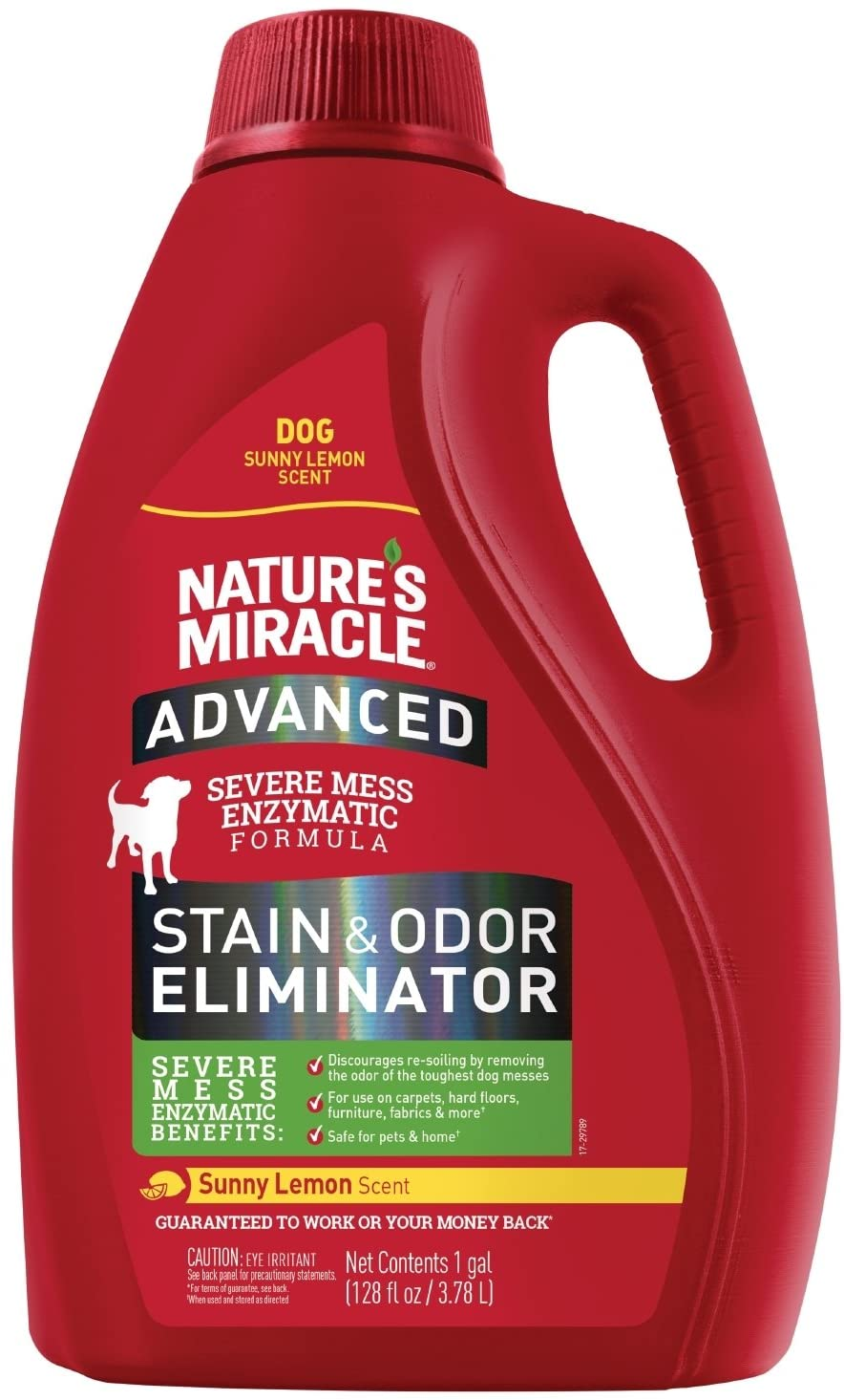 Nature's Miracle Sunny Lemon Advance Stain and Odor Eliminator 32 oz