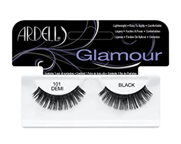 c1486adcb55 Amazon.com : Ardell Fashion Lashes Pair - 101 Demi Black (Pack of 6 Pairs)  : Beauty