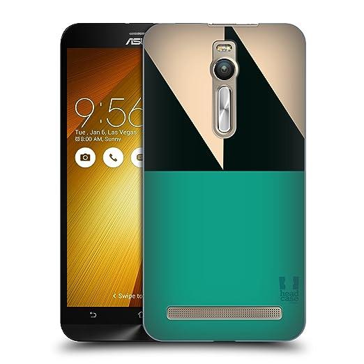 4 opinioni per Head Case Designs Mare Mattoncini Colorati Cover Retro Rigida per Zenfone 2 /