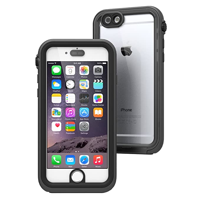 buy popular e3a52 fda22 Catalyst iPhone Case Waterproof Shock Resistant Case for Apple iPhone 6 -  Black and Space Gray