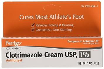 5 PACK - Clotrimazole Generic Lotrimin Anti-Fungal Cream USP, 1 oz Neutrogena Hydrating Makeup Remover Facial Wipes, 25 ct