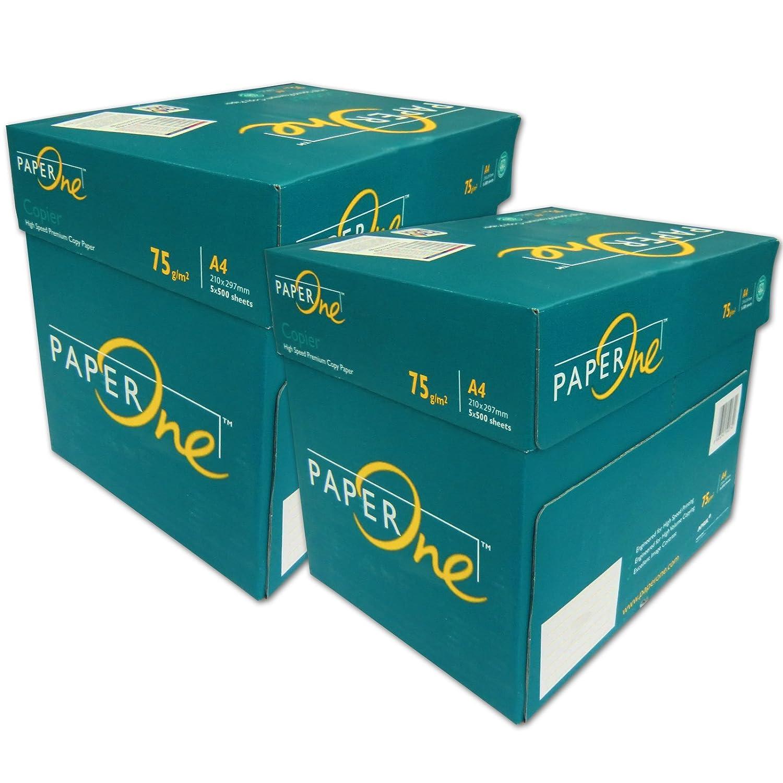 PaperONE 5000 Folios para impresión DIN A4 Papel de marca ...