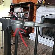 Amazon.com: Valla de seguridad para chimenea, puerta de ...