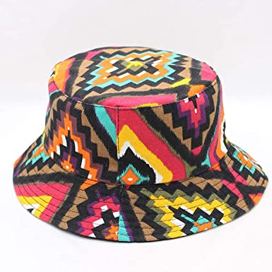 796ac07d09538 Fashion Summer Beach Flower Canvas Fisherman Hats Fisherman Cap Bob Chapeau Cotton  Bucket Hat Men Hip