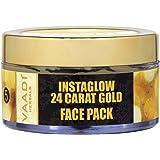 Vaadi Herbals 24 Carat Gold Face Pack, Vitamin E and Lemon Peel, 70g