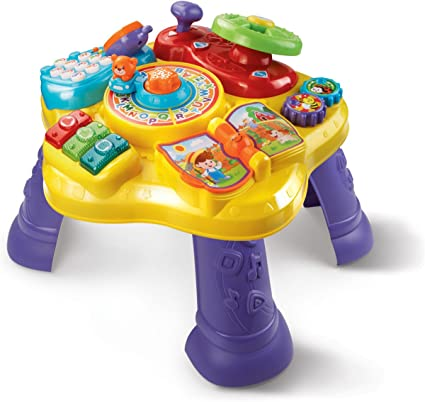 VTech Super Star Learning Table Baby Toy Toddler Infant Activity Fun Play Areas