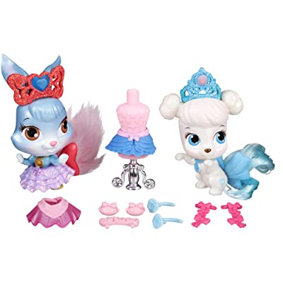 Disney Princess Palace Pets, Whisker Haven Tales, Pumpkin and Berry's Tutu-Terrific Playset: Toys & Games