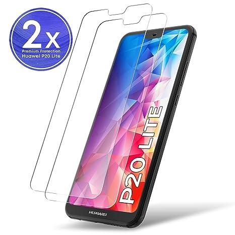 UTECTION 2X Protector de Pantalla para Huawei P20 Lite: Amazon.es: Electrónica