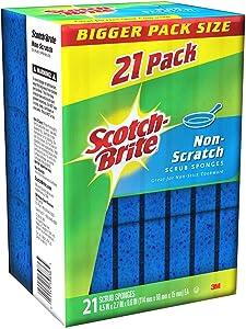 Scotch -Brite Non Scratch Scrub sponges - 21 Pack - Individually Wrapped