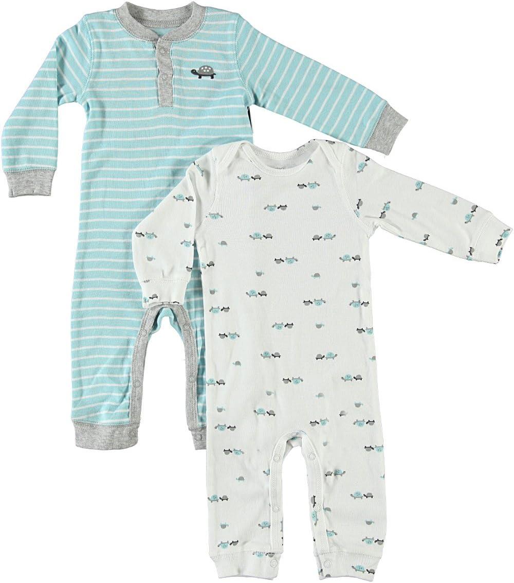 CARTERS - Pijama de 2 jugadores (algodón, 56/62, 2 piezas, talla ...