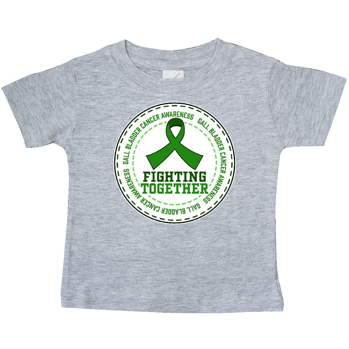 Gall Bladder Cancer Awareness Green Baby T-Shirt inktastic Fighting Together