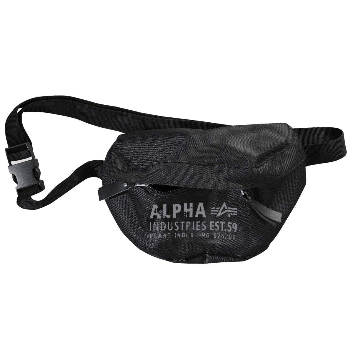 Alpha Industries , Marsupio Unisex - Adulto nero nero