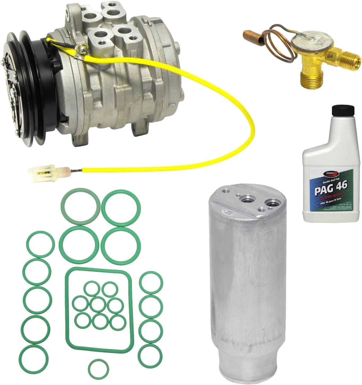 A//C Compressor /& Component Kit-Compressor-Condenser Replacement Kit UAC KT 4101A