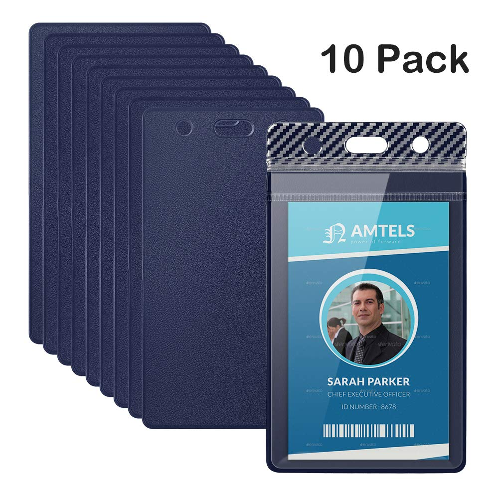 TankerStreet 10 piezas Badge Id Card Holder Impermeable Porta ...