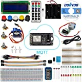 OSOYOO NodeMCU IOT Starter kit 2017 Open Source Programming Learning with NodeMCU ESP8266 WiFi Developmen boardt and Free Tutorial For MQTT Broker