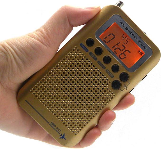 Receptor de banda de aire, radio FM/MW/SW/AIR/CB/VHF ...