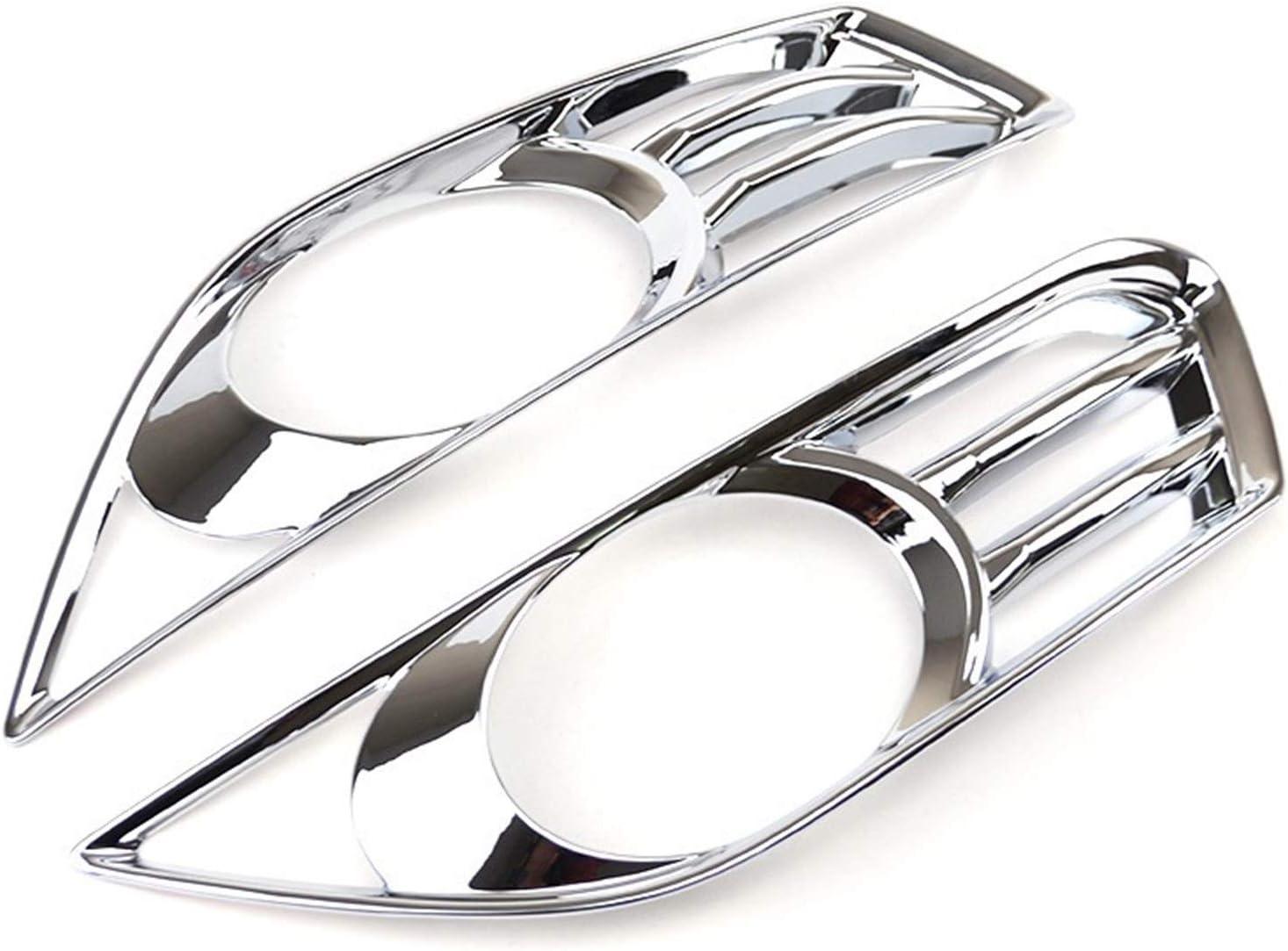 LUANAYUN-PHONE CASE Pr/áctica cubierta de luz delantera para Ford Fusion Mondeo 2013 2014 2015 2016 cromada cubierta de l/ámpara