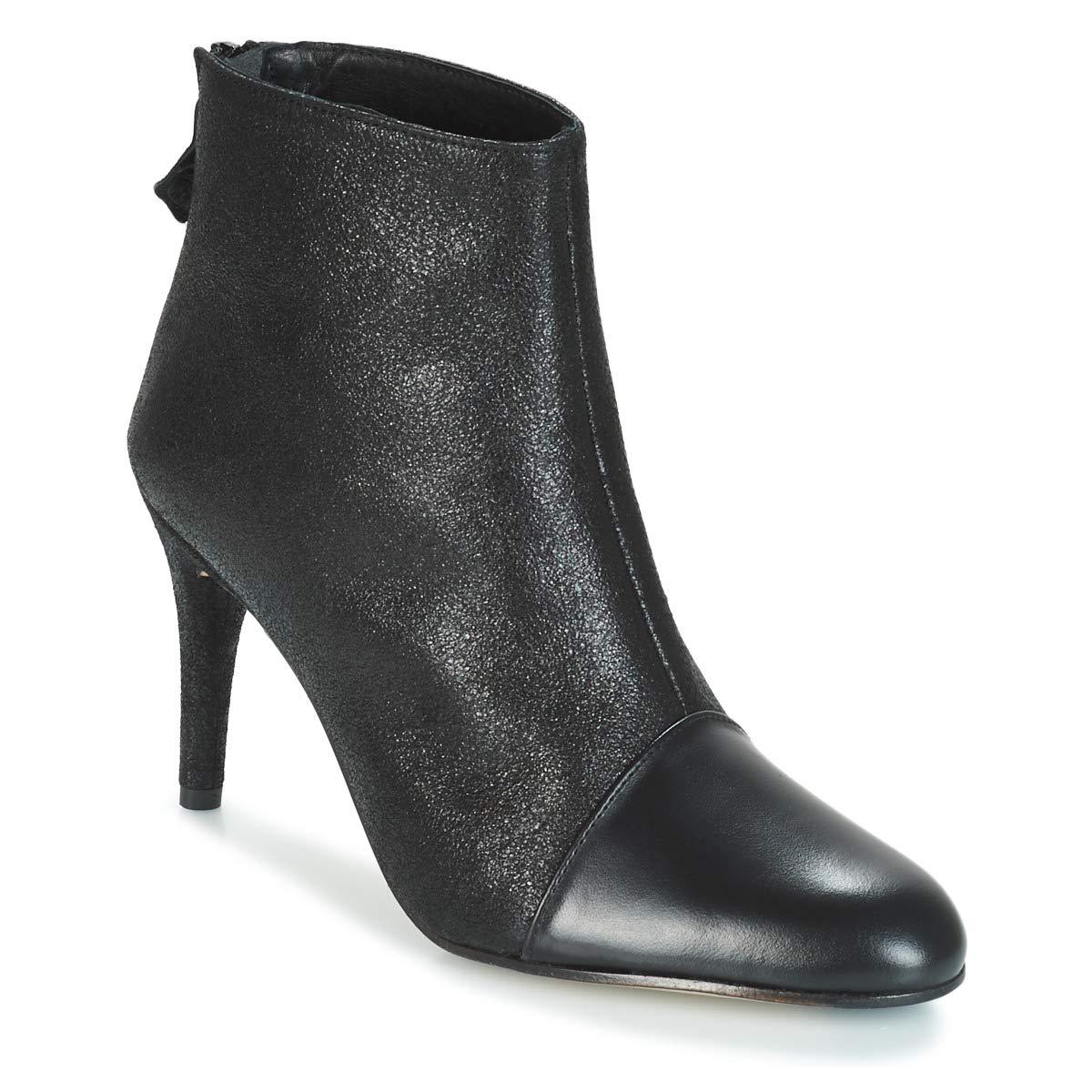 ELIZABETH STUART CITOU Stiefelletten Stiefel Damen Schwarz Low Stiefel