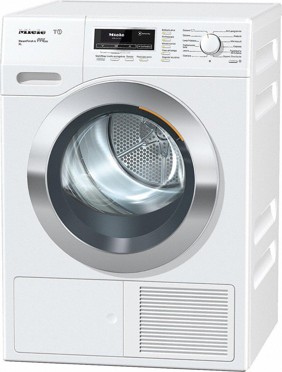 Miele TKR850 WP SFinish& Eco XL Libera installazione Carica frontale 9kg A+++ Bianco [Classe di efficienza energetica A+++]