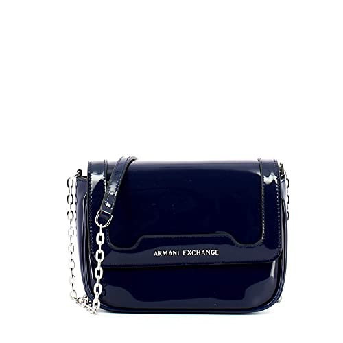 ARMANI EXCHANGE Crossbody Bag Colorful - Borse a spalla Donna, Blu (Navy), 8998fe55657