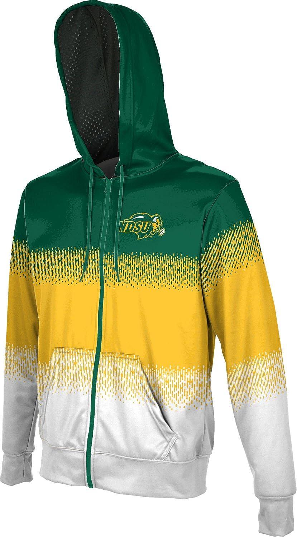 University of South Dakota Girls Zipper Hoodie Grunge School Spirit Sweatshirt