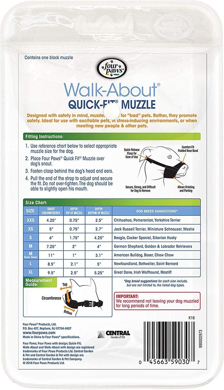 Size 0 Xxs Four Paws Quick Fit Muzzle Pet Supplies Muzzles Ayianapatriathlon Com