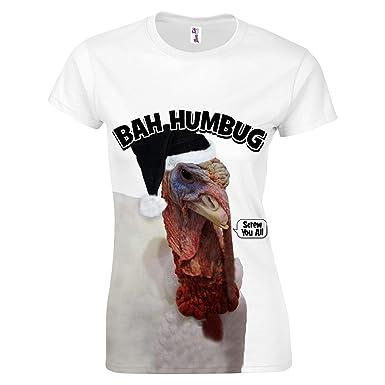 fb94b600b7 Funny Christmas T Shirts Uk Source · Funny Christmas T Shirts Her Women  Novelty Xmas Presents Turkey