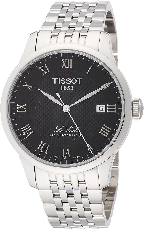 Tissot Reloj Analógico para Hombre de Automático con Correa en Acero Inoxidable T0064071105300