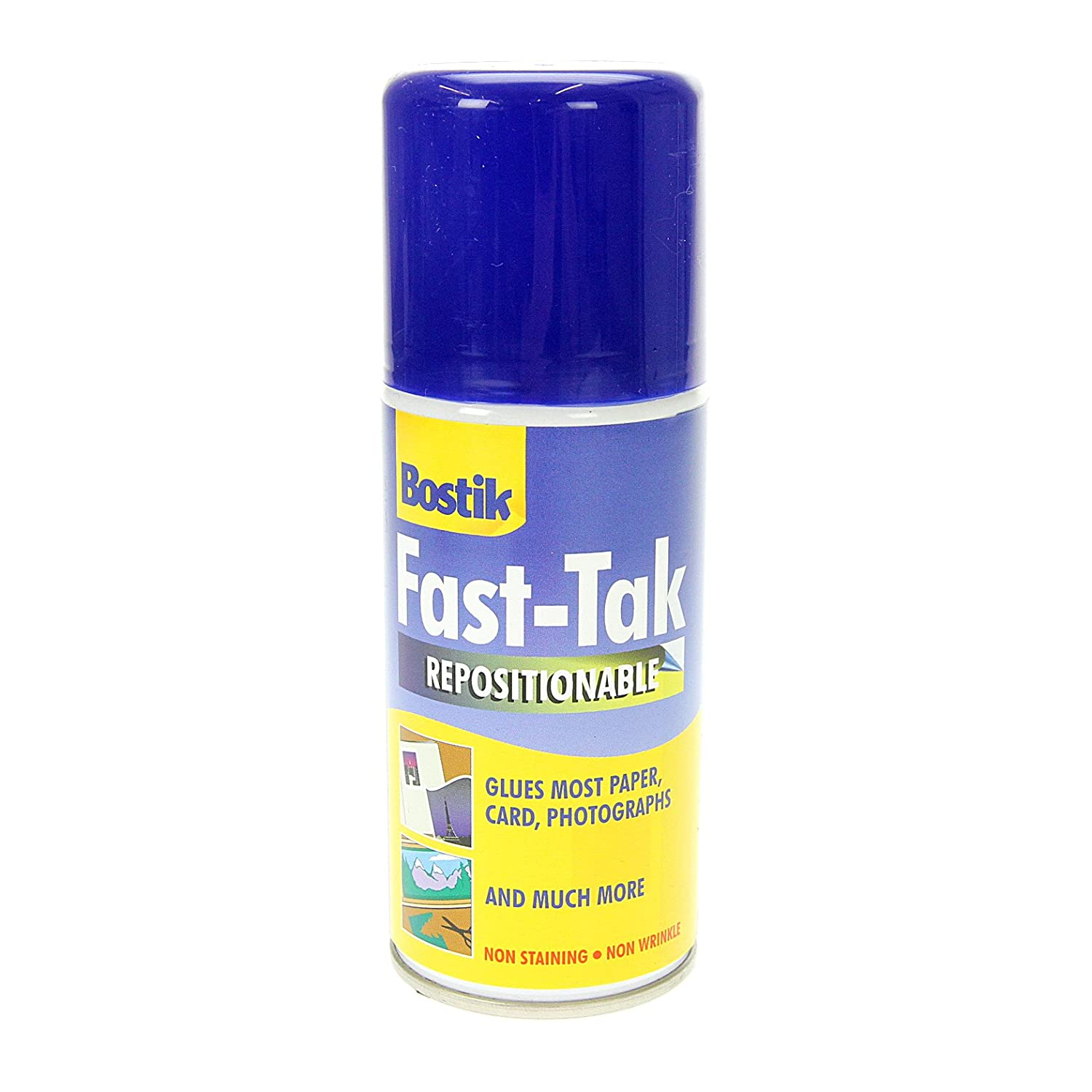 Bostik Blu-Tack Fast Tak Adhesive Spray Can Repositionable 150ml Ref 80219 Pavilion DV2097ea