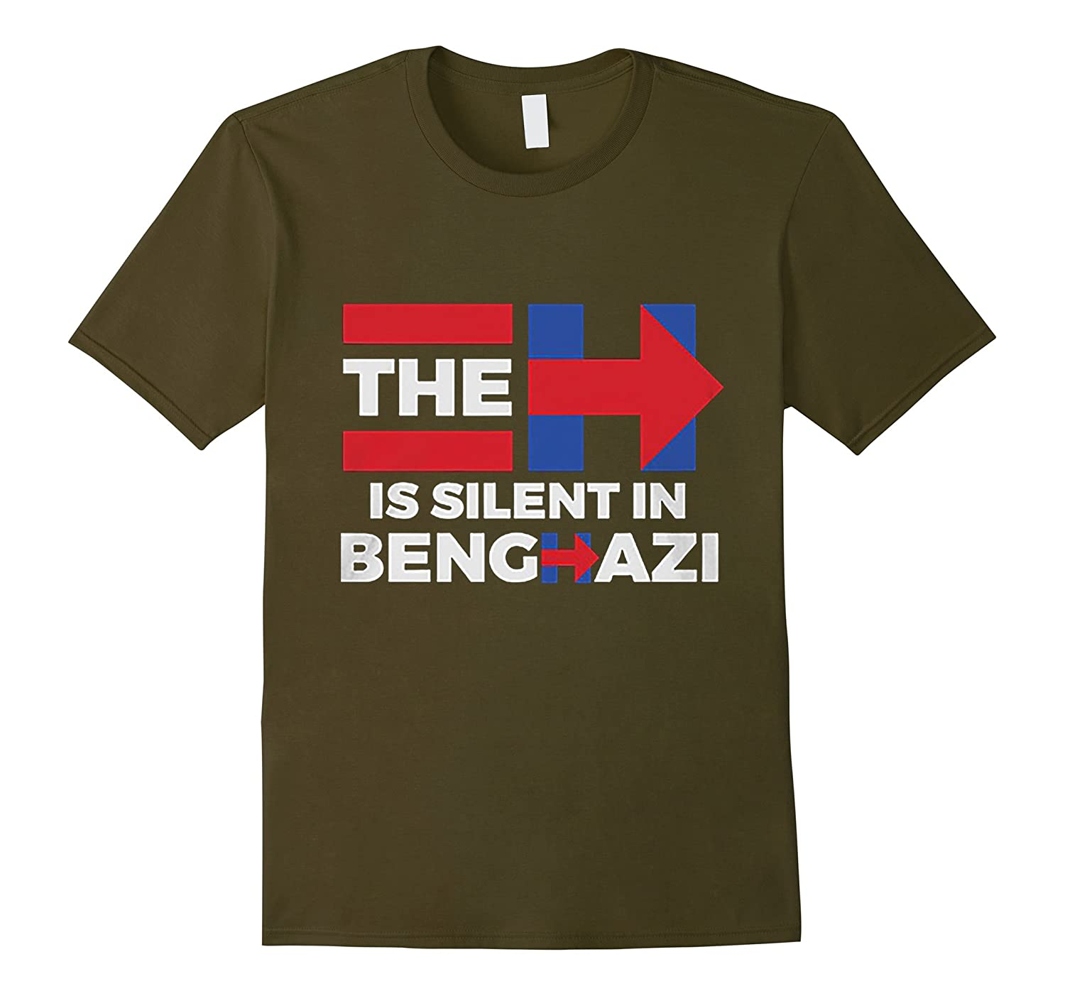 THE H IS SILENT IN BENGHAZI SHIRT